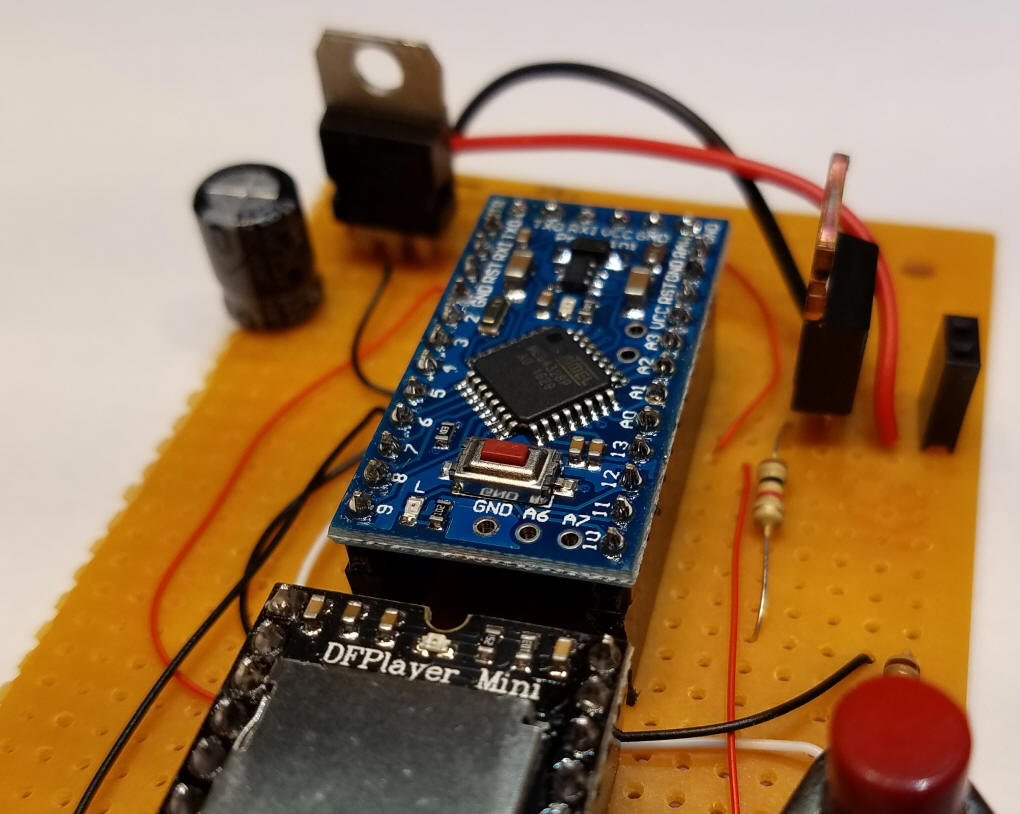 Thunder Lightning Animation Sixled Bar Power Indicator Electronic Circuits The Two Heavier Red And Black Wires Deliver Directly To Mosfet Plug For Led Bulbs Using Thinner Wire Would Limit Amount Of