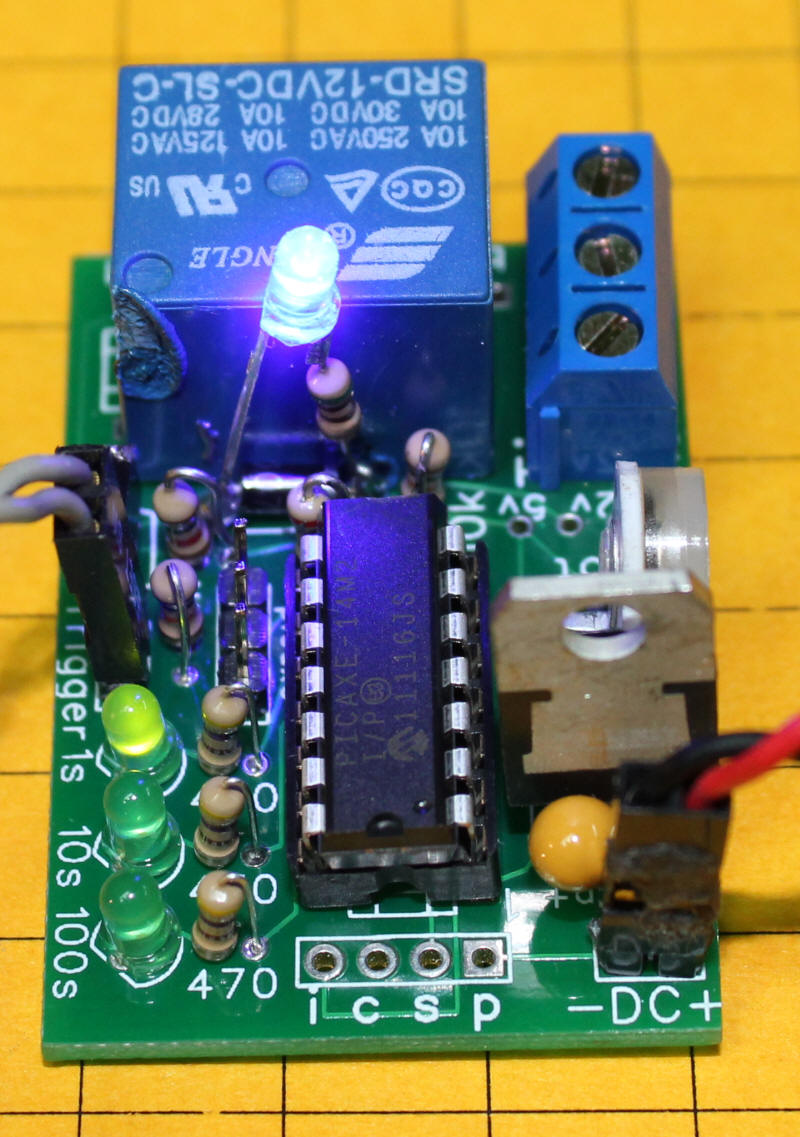 Animation Timer 12v Diode Relay Wiring Diagram It Is Tricky To Do After The In Note Burned Mark On So Best Solder Before Installing