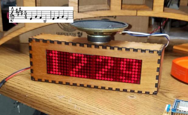 Arduino WiFi Set Clock /w Hands