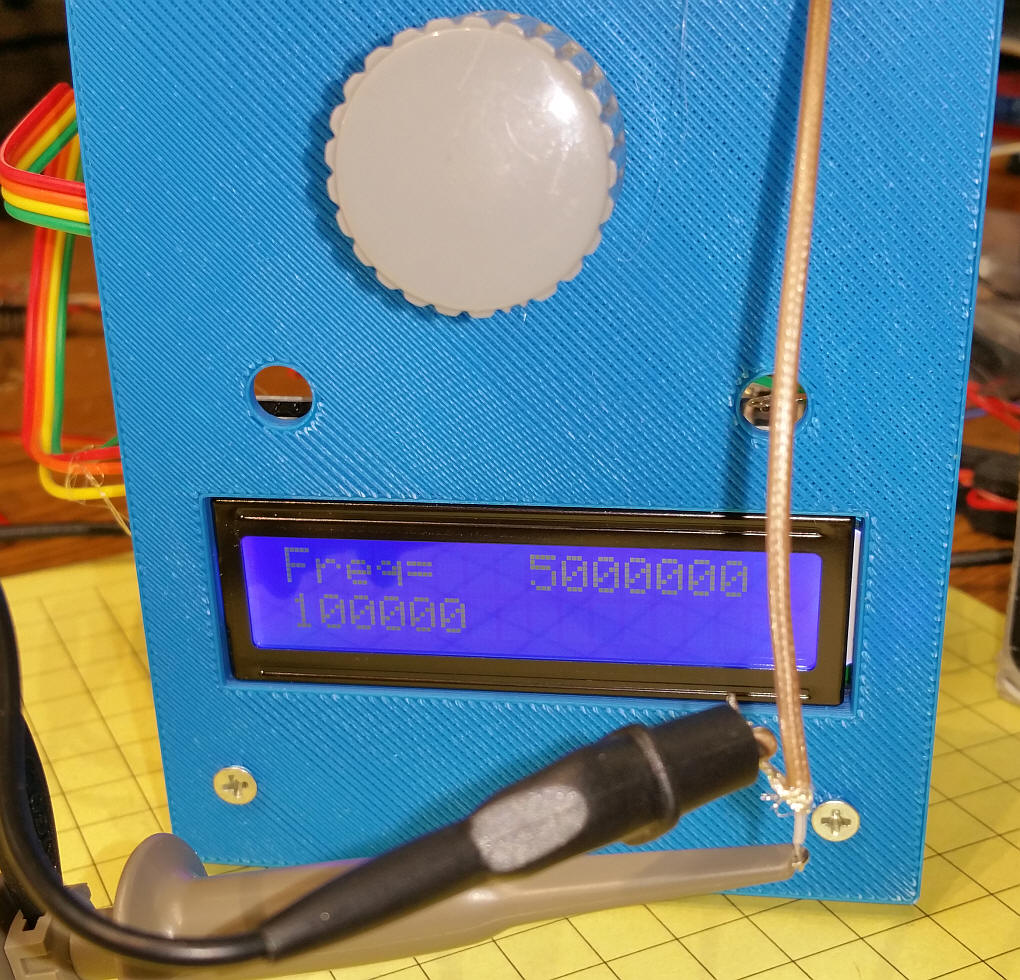 AD9851 DDS Frequency Unit