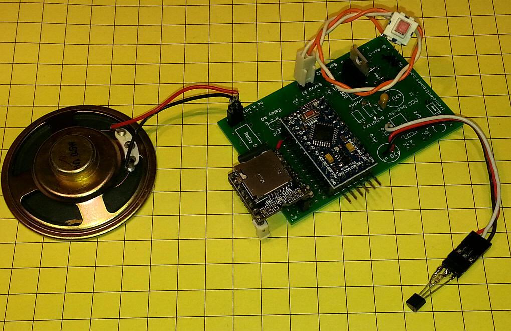 Arduino talking temperature