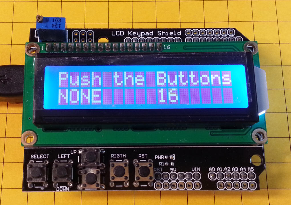 Arduino lcd keypad library download