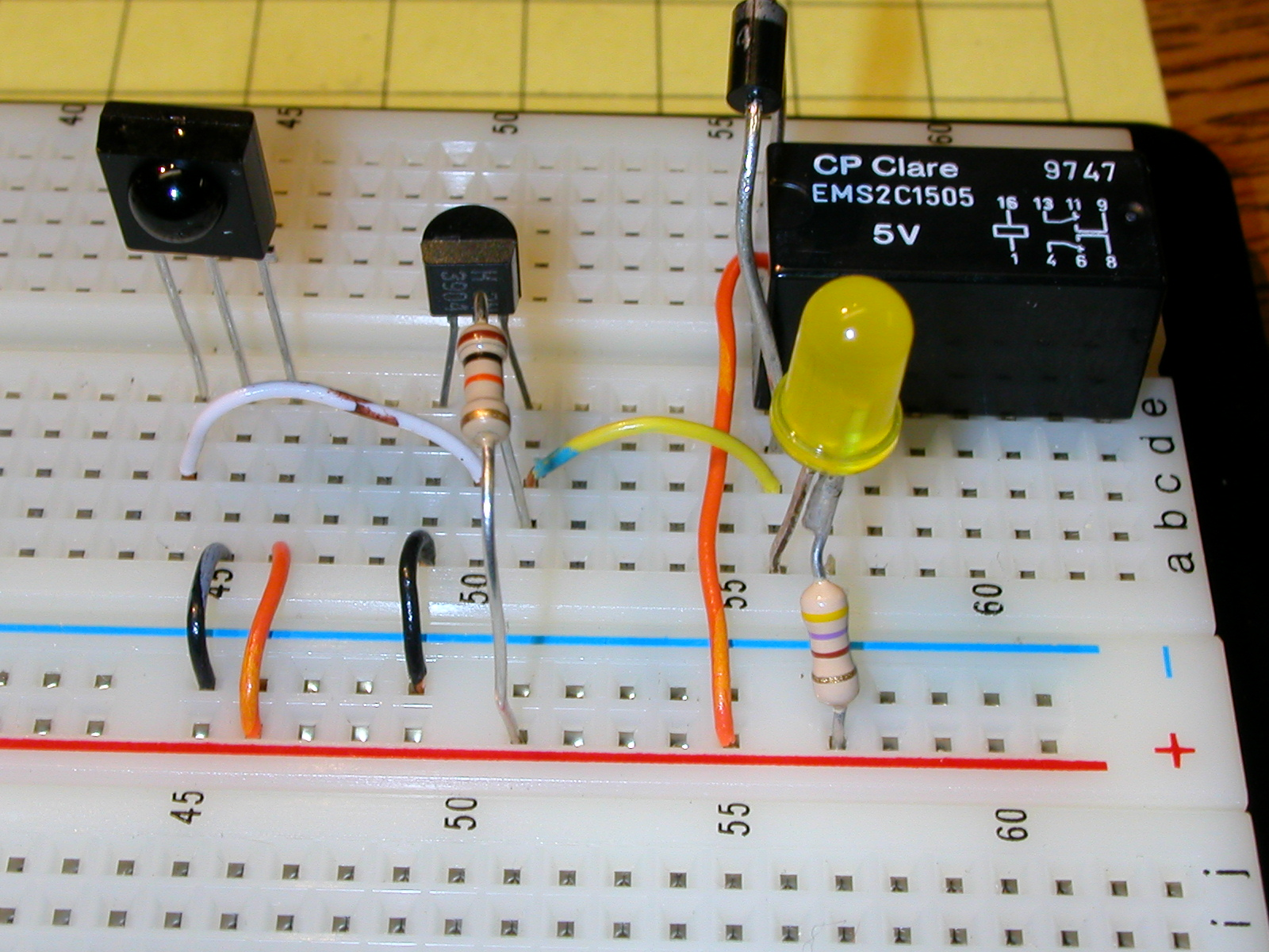 Pulsed Ir Sensor Led And Photo Diode Object Detection Circuit Diagram