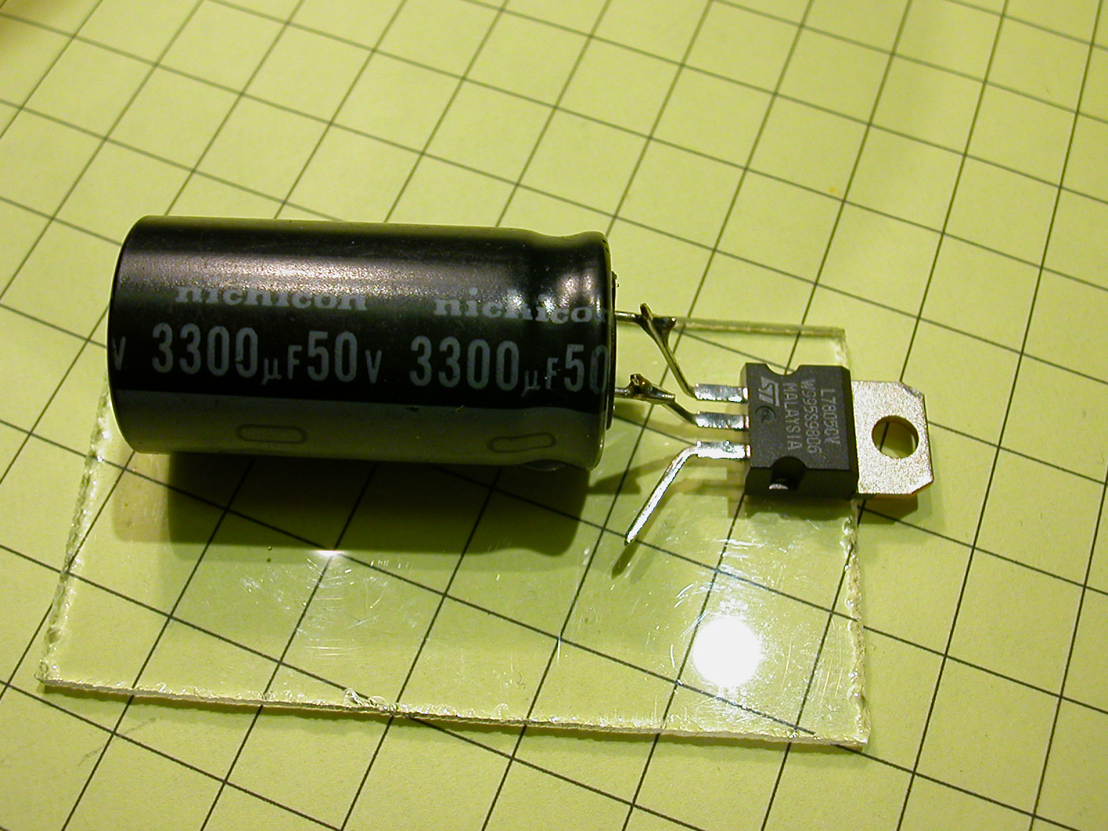 Voltage Regulator Article 6 Volt Circuit Using 7806 There Are Four Leads Two That Connected To The Input From Track And A Positive Negative Output Lead